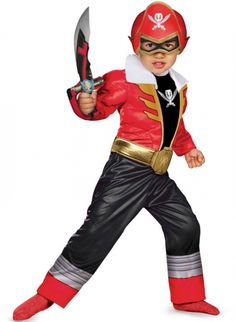 Red Power Ranger Costume