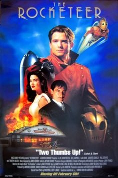 The Rocketeer (1991) movie #poster, #tshirt, #mousepad, #movieposters2