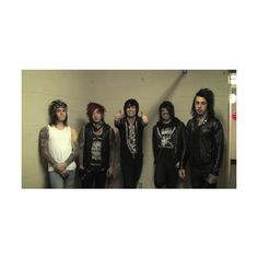 ryan seaman | Tumblr ❤ liked on Polyvore featuring falling in reverse and bands