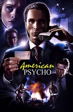 American Psycho, 2000, poster art