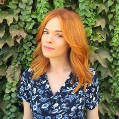 """The Raddest Fall Hair-Color Trends From L.A.'s Top Stylists #refinery29  http://www.refinery29.com/la-fall-hair-color-inspiration#slide-1  Stylist: Christopher Pierce Salon: Andy Lecompte SalonWhat to ask for: Single-process, intense copper Dying for a vibrant jolt of color for fall? Look no further. """"..."""