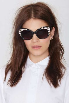 Aria Cat-Eye Shades | Shop What's New at Nasty Gal