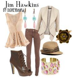 Jim Hawkins from DisneyBound