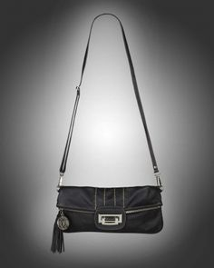 Black clutch from V-Collection
