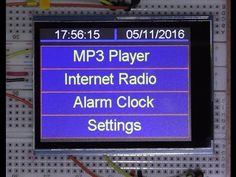 IOT Arduino project ( Teensy ) Internet radio and player WIFI Internet Radio, Arduino Radio, Wifi Arduino, Radios, Simple Arduino Projects, Esp8266 Wifi, Electronics Projects, Home Automation, Mp3 Player