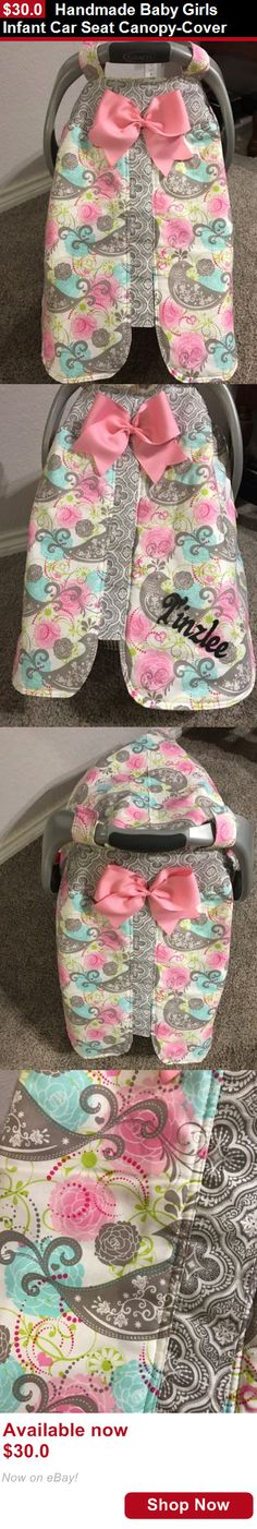 baby and kid stuff Pretty In Pink With Bows Handmade Baby Infant Car Seat Canopy-Cover BUY IT NOW ONLY $30.0 | Awesome Baby Gear | Pinterest | Infant car ... & baby and kid stuff: Pretty In Pink With Bows Handmade Baby Infant ...