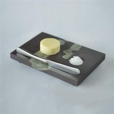 Cheese Plates for one, make dining alone a joy. These Individual slate cheese boards will double up as starter plates for pate too. Starter Plates, Slate Cheese Board, Kitchenware, Tableware, Tea Light Holder, Tea Lights, Butter, How To Make, Welsh