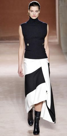 Victoria Beckam Runway Looks We Love: New York Fashion Week - Fall/Winter 2015 from #InStyle