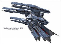 The massive Judgment Class SDF vessels are heavily armed ships designed for intense anti-ship combat. Over meters long, this class of combat vesse. Macross Valkyrie, Robotech Macross, Macross Anime, Mecha Anime, Super Robot, Robot Art, Gi Joe, Deviantart, Spaceships