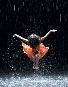 Film still showing Ditta Miranda Jasifi playing a scene in Wim Wenders' film 'Pina', about deceased German dancer and choreographer Pina Bausch