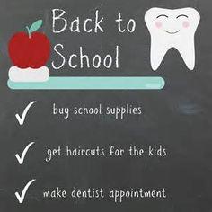 back to school dentist