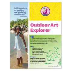 JUNIOR OUTDOOR ART EXPLORER BADGE REQUIREMENTS - PRINTED AND DOWNLOAD VERSIONS