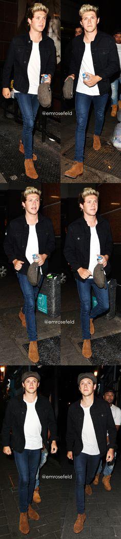 Niall Horan | at Cirque De Soir in London 6.2.15 | @emrosefeld |