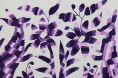 lavender to purple Otomi Fabric piece Super High Quality