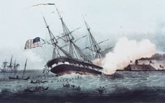 Remembering the CSS Virginia's historic path of destruction through Hampton Roads. bit.ly/1R5KL5U -- Mark St. John Erickson