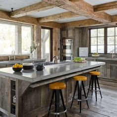 Kitchen Photos Rustic Design Ideas, Pictures, Remodel, and Decor
