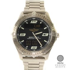 Breitling Aerospace Gents Titanium Quartz Watch
