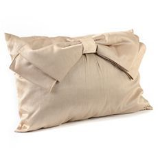 Champagne Bow Pillow at Kirkland's