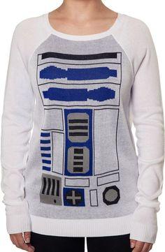 R2D2 Sweater: Star Wars Ladies Sweater