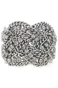 Petra Braided Bracelet-This Stella & Dot piece is absolutely gorgeous! And it was featured on Gossip Girl. It would look absolutely stunning with a black cocktail dress, or as a great accessory for a girl's night out.