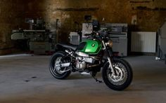 BMW R100R Brat Style by MOTORIEEP #motorcycles #bratstyle #motos   caferacerpasion.com