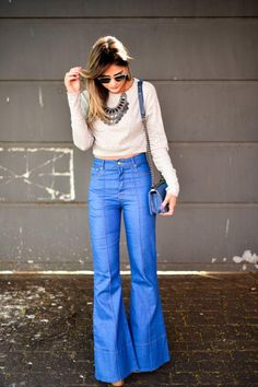 Flared Pants Are Spring 2015s Biggest Trend | StyleCaster