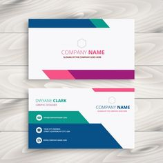 Business Card Template Vector - Business Card Template Vector , 20 Free Business Card Design Templates From Freepik Business Card Stock, Free Business Card Design, Free Business Cards, Modern Business Cards, Creative Business, Visiting Card Design, Creative Names, Bussiness Card, Free Graphics