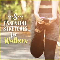 Whether you're a seasoned walker, or just starting your walking routine, these stretches are essential to avoid pain and injury.