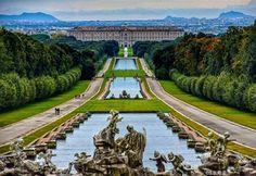 Royal Palace of Caserta (Reggia di Caserta), Naples, Italy via @the_ht78