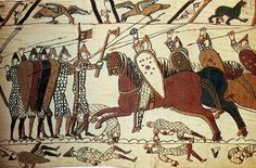 The Battle of Hastings took place on this day in British history, 14 October This battle was the effective culmination of the Norman conquest of England. The forces of William II of Normandy fought the Anglo-Saxon forces of. British History, Art History, Family History, History Class, Ancient History, Vikings, Women Artist, Norman Conquest, Bayeux Tapestry