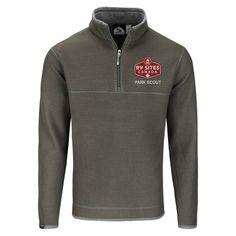 Storm Creek® Men's 'Jarrett' Waffle Knit 1/4-Zip Pullover