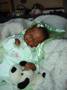 Reborn Ethnic Baby by Lullabyes Nursery