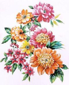 bunch of flowers, hd flowers, elegant flowers, botanical flowers Hd Flowers, Elegant Flowers, Bunch Of Flowers, Botanical Flowers, Botanical Prints, Vintage Flowers, Floral Flowers, Flower Tattoo Designs, Flower Tattoos