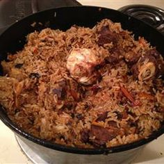 Uzbek Plov (Lamb and Rice Pilaf) = all you ever need