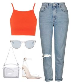 """11"" by ddaisiee on Polyvore featuring Topshop, Loewe and Sun Buddies"