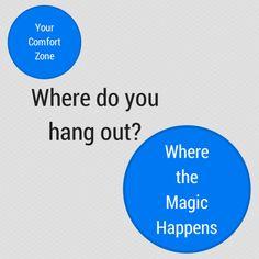 Comfort Zone vs. Where the Magic Happens
