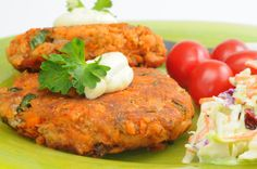 Salmon Patties in a Lemon Cheese Sauce | AmazingSeafoodRecipes #seafood #recipes #salmon