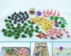 Dungeon Petz polymer clay meeples - for sale by claymeeples.deviantart.com on @DeviantArt