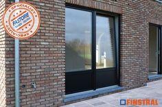 PVC Retro zwart (RAL9005) Garage Doors, Windows, Retro, Outdoor Decor, Home Decor, Decoration Home, Room Decor, Rustic, Interior Design