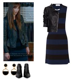 Spencer Hastings - pll / pretty little liars by shadyannon on Polyvore featuring polyvore moda style 10 Crosby Derek Lam MANGO Jil Sander Warehouse fashion clothing
