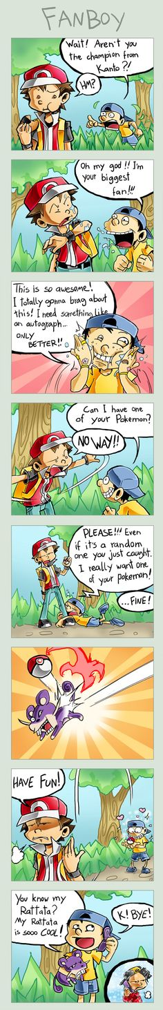 Aww. I know the artist is portraying Youngster Joey as obscenely obnoxious but  I think this is kinda cute. :3