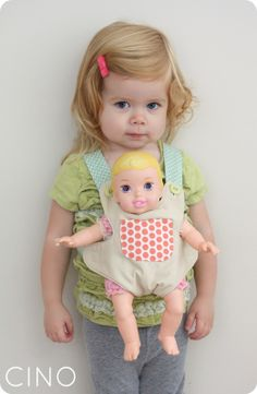 baby doll carrier pattern  get ideas from book of Oliver + S little things to…