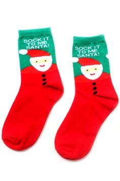 Santa Claus Ankle Socks