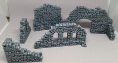 Game Terrain, 40k Terrain, Hirst Arts, Warhammer Paint, 3d Modelle, Wargaming Terrain, D&d Dungeons And Dragons, Military Diorama, Fantasy Inspiration