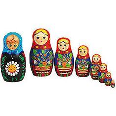 Wooden Russian Dolls