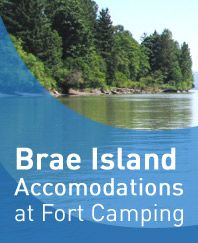 Fort Langley and Brae Island. Camping and swimming in the river!!