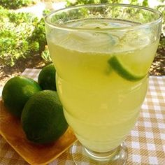 "Honey Limeade | ""Wonderful! All the flavors even out perfectly!"""