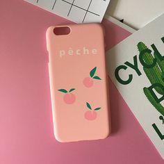 Peach Phone Case