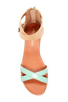 Mint + Nude sandals