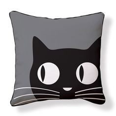 Big Eyes Cat Cushion Cover by Naked Decor on THEHOME.COM.AU